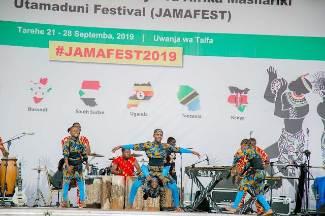 Picha : NGOMA ZA MATAIFA MBALI MBALI ZAZIDI KUPAMBA TAMASHA LA JAMAFEST 2019