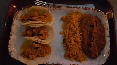Trio of Street Tacos at Rancho del Zocalo Restaurante - Disneyland
