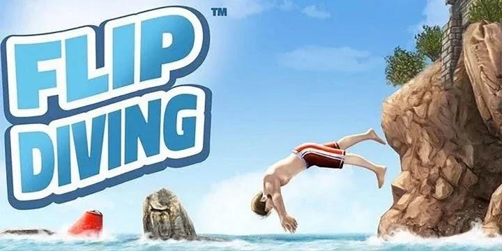 Flip Diving لعبة الغوص على الجرف رقم 1 في العالم - الآن على هاتفك المحمول!