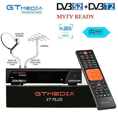 تحديث جديد لجهاز GTMEDIA V7 PLUS