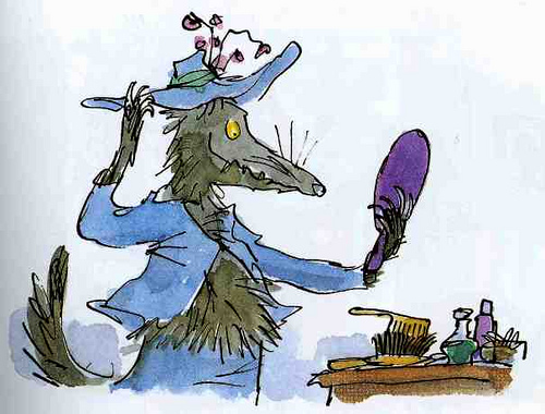 dibujo de Quentin Blake