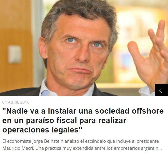 Piden juicio político a Macri