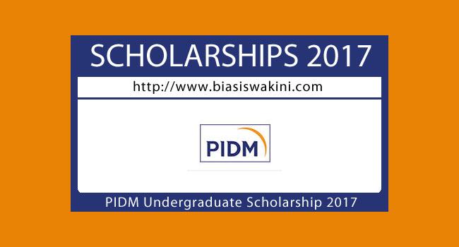 PIDM Undergraduate Scholarship Programme 2017- Biasiswa PIDM 2017