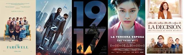 Las mejores películas de 2020, Mejores películas de El blog de Juan Carlos