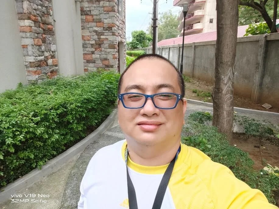 Vivo V19 Neo Camera Sample - Selfie, Normal