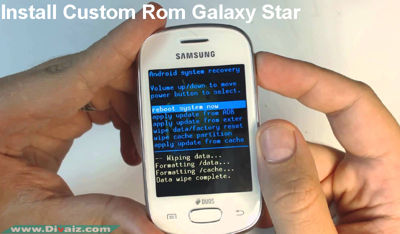 Cara Install Custom Rom Samsung Galaxy Star Duos GT-S5282