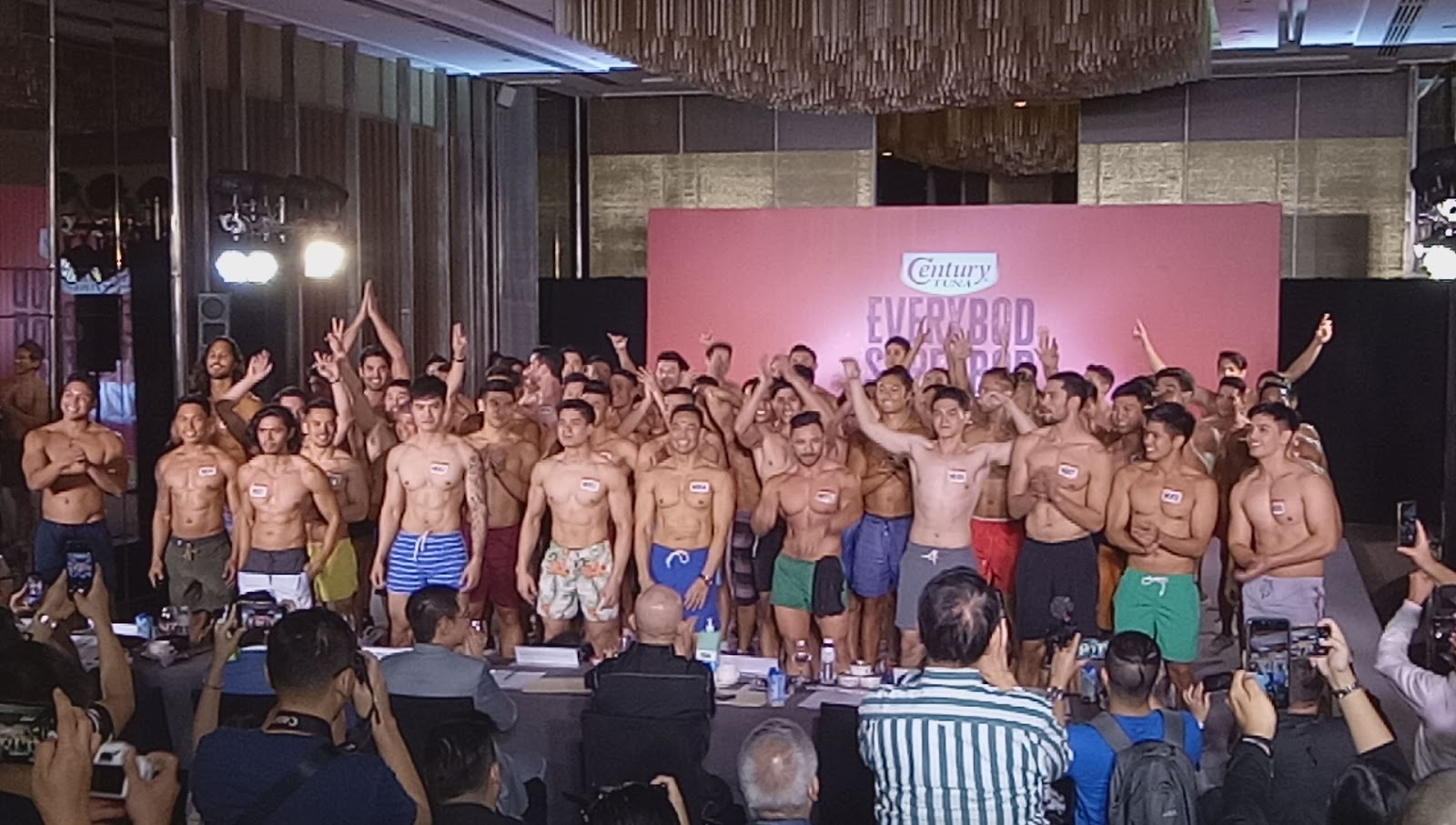 Century Tuna Everybod Superbod Final Callback - Male Category