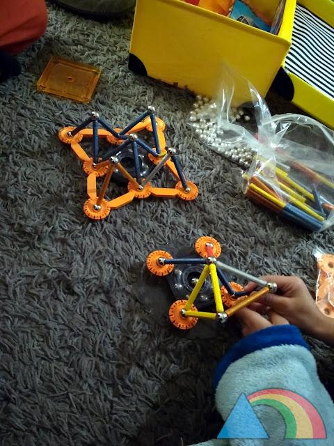 Juego de construcción Geomag mechanics