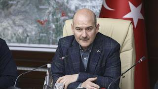 وزير الداخلية التركي: تركيا لا ترحل أحدا إذا كانت حياته معرضة للخطر في بلاده