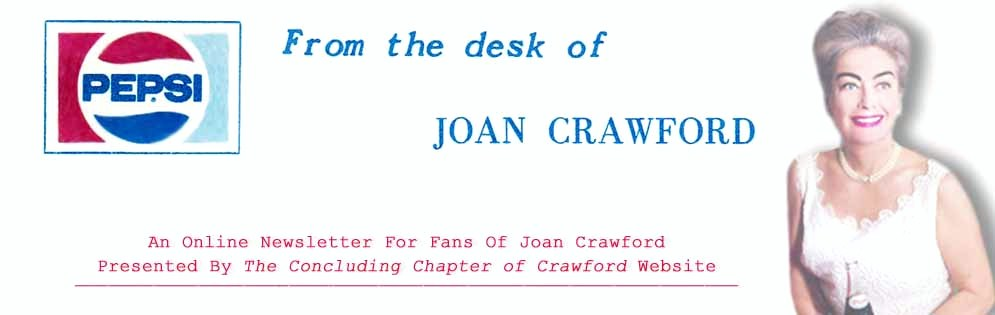 From The Desk Of Joan Crawford