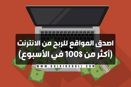 اصدق المواقع للربح من الانترنت (أكثر من 100$ في الأسبوع)