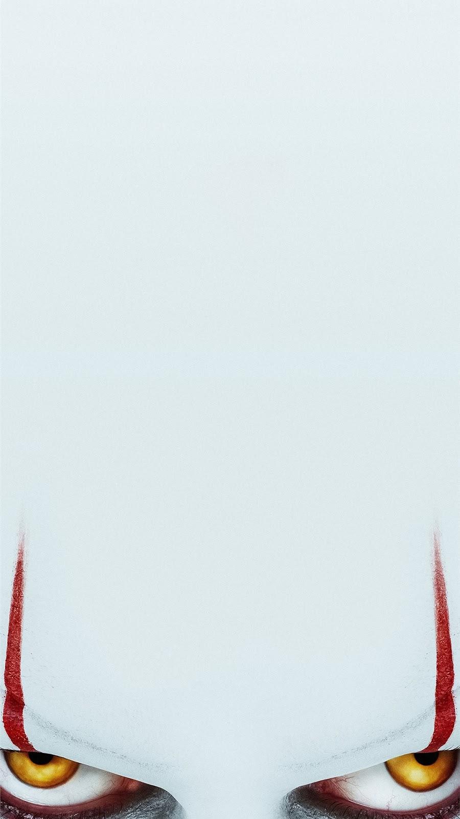 iPhone, IT capitolo 2, wallpaper IT, occhi, horror, it pagliaccio