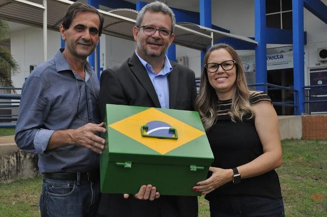 Cápsula do Tempo será guardada no campus da Unic Tangará da Serra