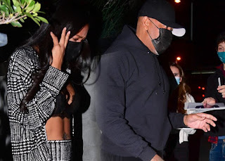 Dr. Dre and Apryl Jones spark dating rumours after being spotted together at a resturant in LA