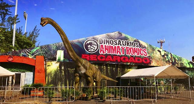"""Dinosaurios Animatronics abre sus puertas en el Parque Naucalli con """"Dino Safari"""""""
