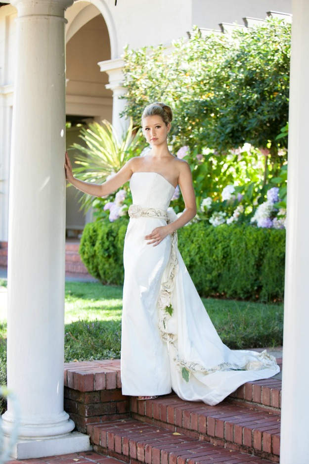 BRIDE CHIC AT THE VILLA
