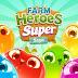 تحميل لعبة أبطال مزرعة سوبر ساجا Farm Heroes Super Saga v0.46.8 مهكرة كاملة اخر اصدار