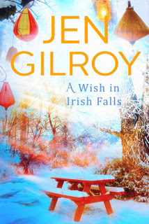 The Writer's Pet: Jen Gilroy and A Wish in Irish Falls (book cover pictured)