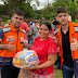 ENCHENTE: Moradores do povoado Limeira recebem cestas básicas da Prefeitura de Bacabal