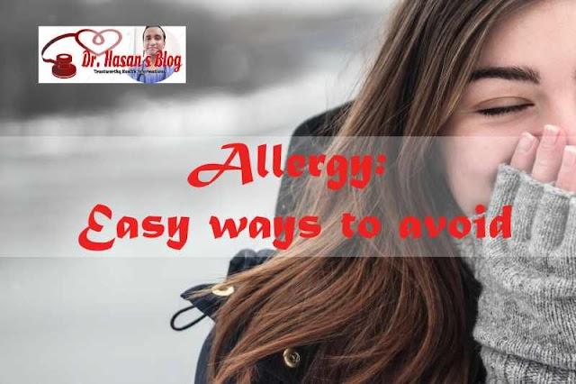 Allergy! Easy ways to avoid it!