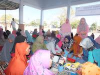 Digagas PT. PNM Mekaar Cabang Bolo, Emak-Emak Antusias Ikut Pelatihan Kue Kering
