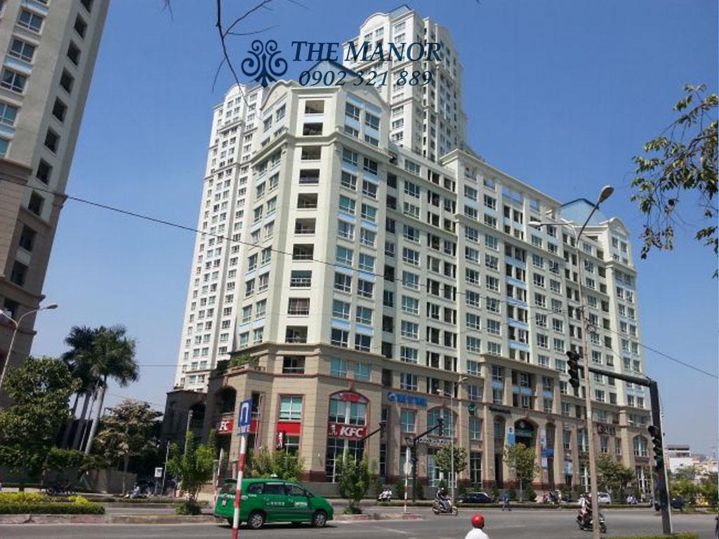 Bán căn hộ chung cư The Manor 1 Bình Thạnh 101m2 - tòa nhà the manor 2