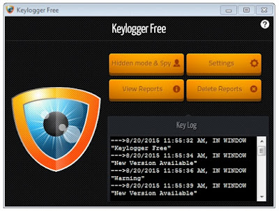 Key Logger Free Software Installed