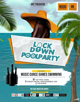 Event: LockDown Pool Party 2020 || ®BillBoard Jos