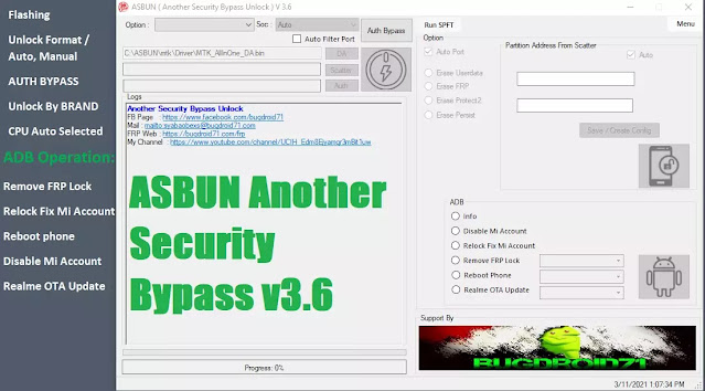 ASBUN Another Security Bypass v3.6