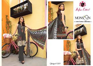 Nafisa Monsoon Vol 3 Pakistani  Cotton Dress Material Collection