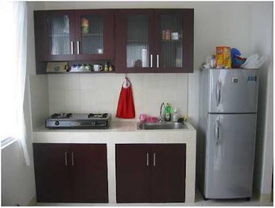 desain meja dapur sederhana