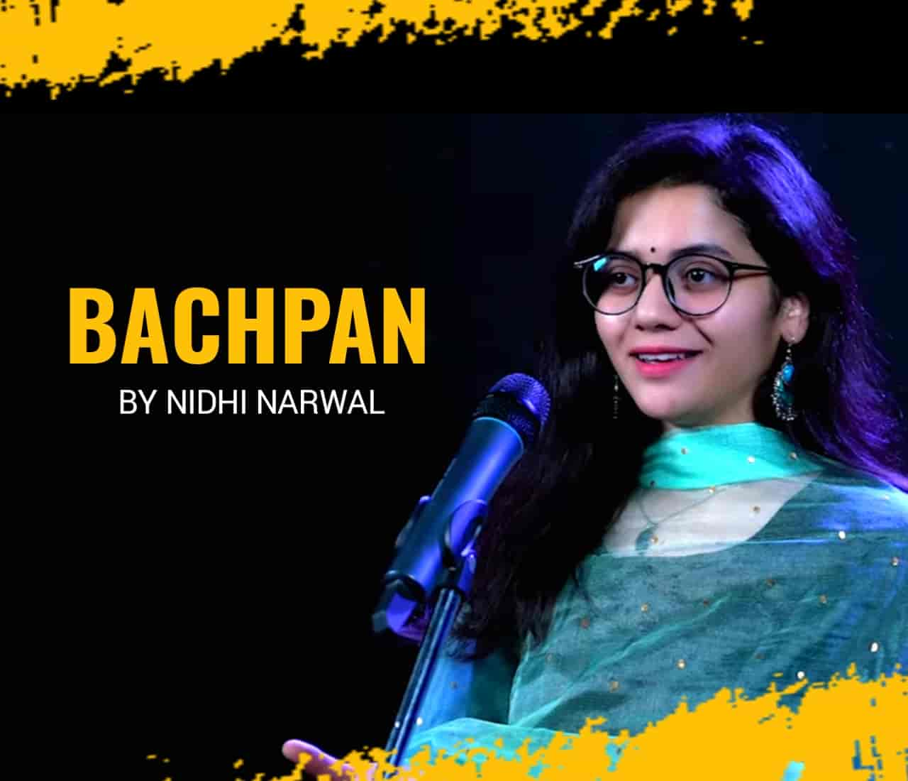 Nidhi Narwal has performed and written this beautiful poetry. This beautiful poetry 'Bachpan has released under the label of FNG Media.
