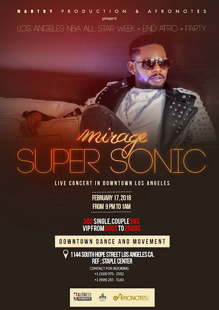Mirage Supersonic Concert live à Los Angeles