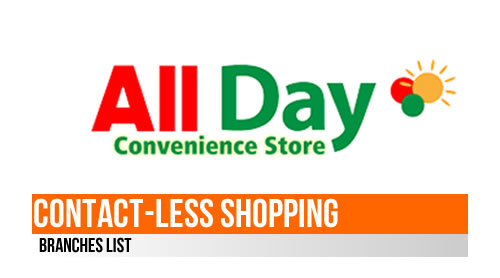 LIST: GCash Merchant Partner All Day Convenience Store (Contact-Less Shopping)