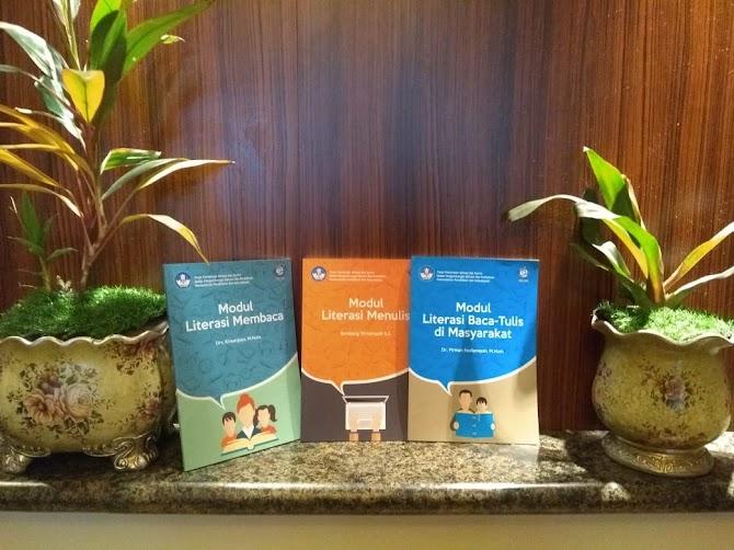 Jadwal Kegiatan Bimtek Fasilitator Literasi Regional Sumatra 2019