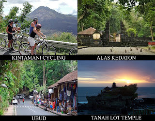 nosotros offering interesting parcel combination of cycling action inwards Kintamani alongside fun sights BaliTourismMap: KINTAMANI CYCLING COMBINATION TOUR