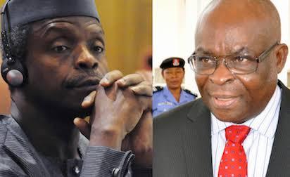 Osinbajo, Others Begin Moves To Settle CJN Onnoghen's Case