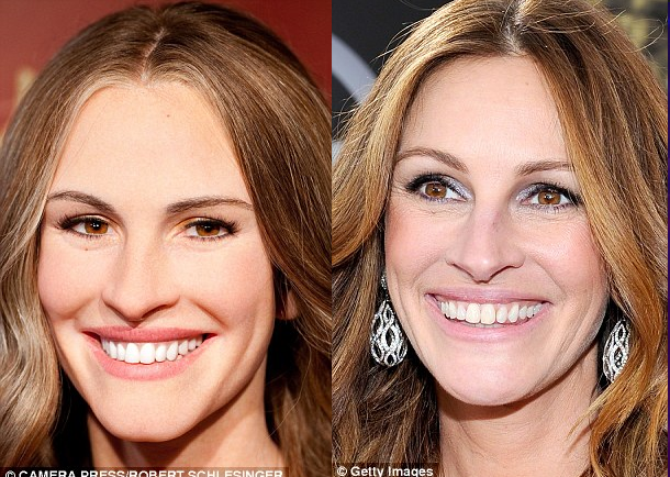 julia roberts waxwork photo