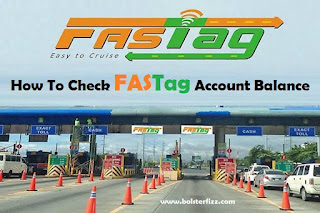 How To Check FASTag Account Balance
