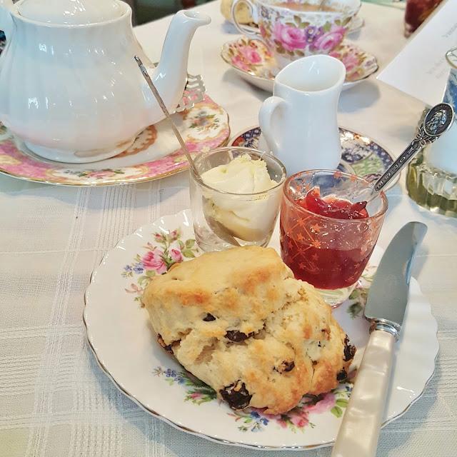 Cakestand & Crumb Tea Room scones