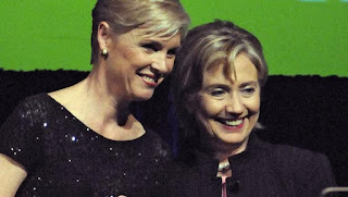 PPFA President Cecile Richards with Secretary of State, Hillary Clinton