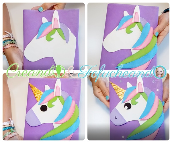 unicornio-pasos-Unicornio-paso-a-paso-decora-tu-cuaderno-con-goma-eva-creandoyfofucheando