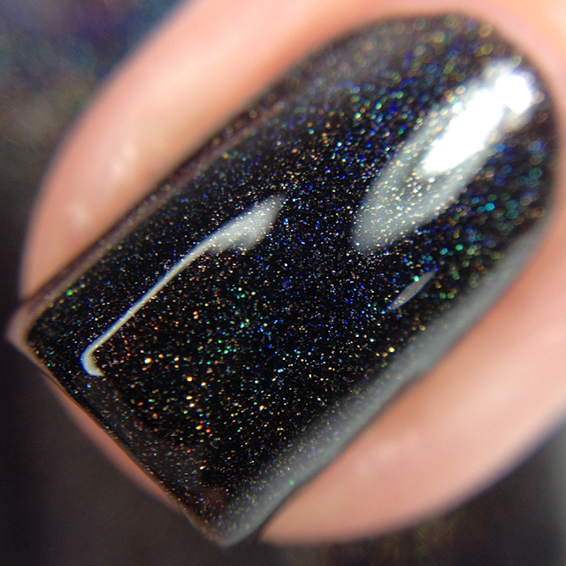 Supernatural Lacquer-Resting Witch Face