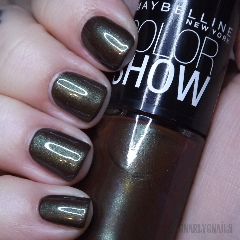 Fall Favorite Polishes - Greens - Gnarly Gnails