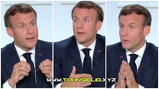 """ماكرون يهدد كل """"الإسلاميين"""": """"لن تهنئوا بالنوم في فرنسا"""""""