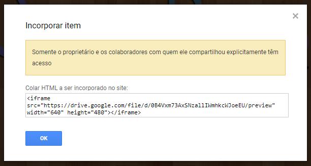 código frame. Copie!