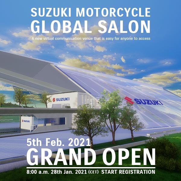 Suzuki anuncia salão global virtual
