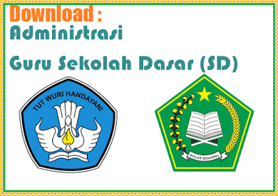 Download Administrasi Guru Kelas SD 1/4 Kurikulum 2013 - SD SWASTA