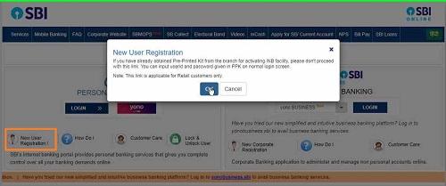 New-Registration-in-SBI-NetBanking