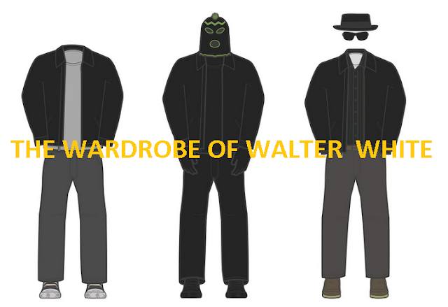The-Wardrobe-Of-Walter-White #Infographic